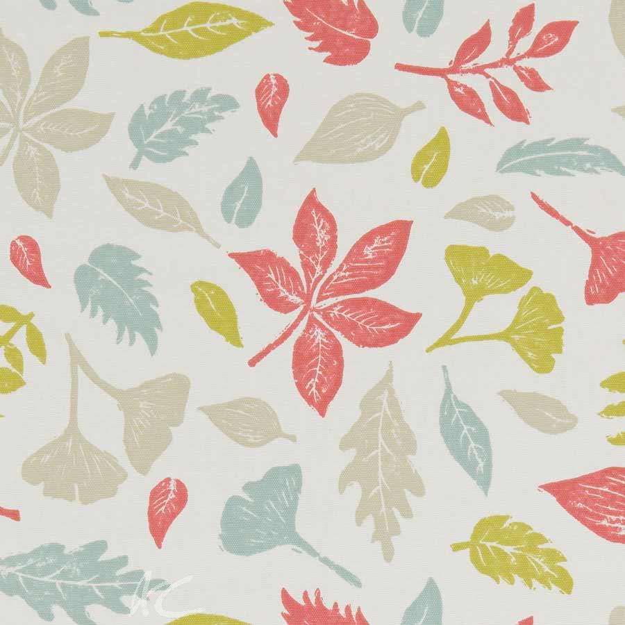 A Land and Sea Hawthorn Summer Curtain Fabric