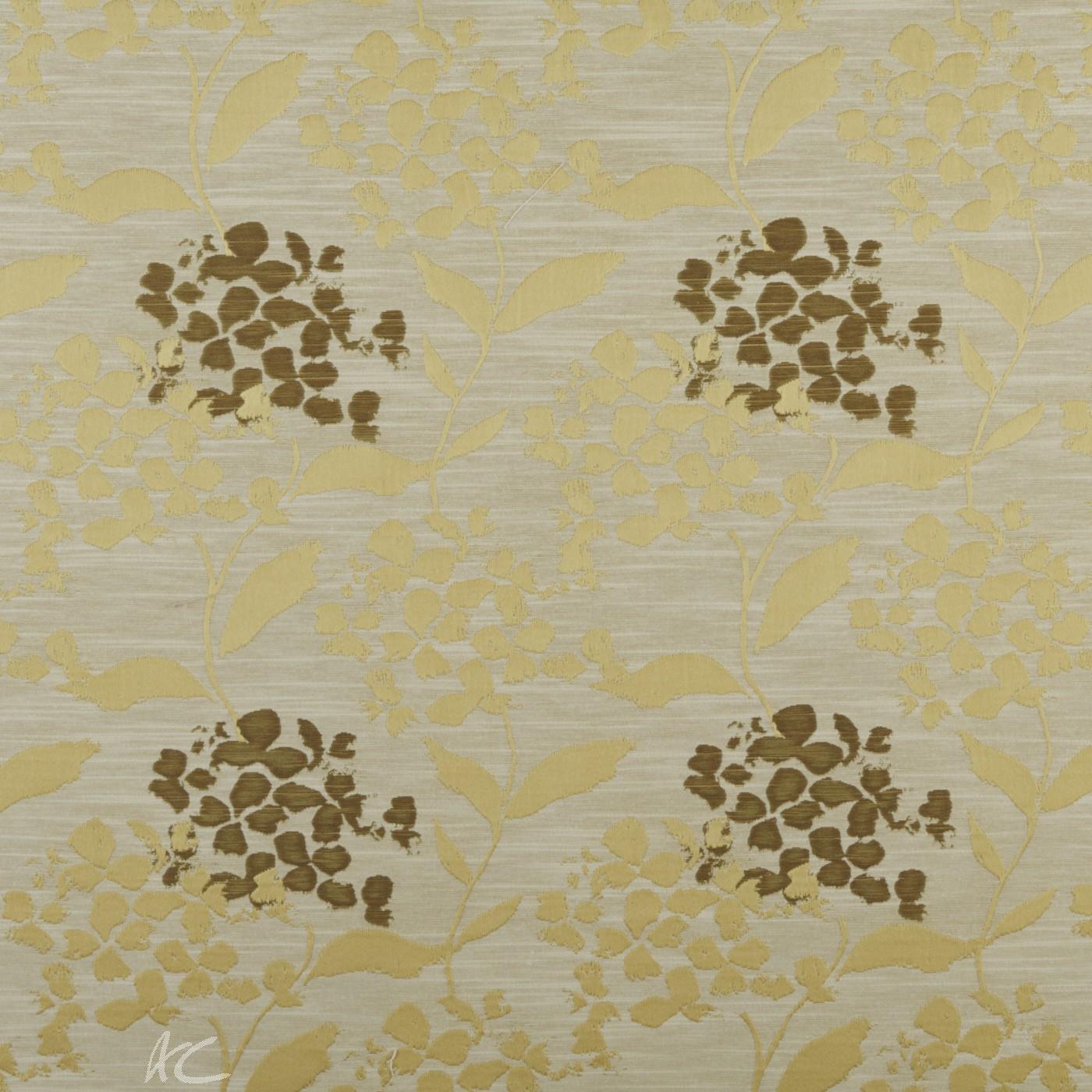 Prestigious Textiles Eden Hydrangea Chartreuse Curtain Fabric
