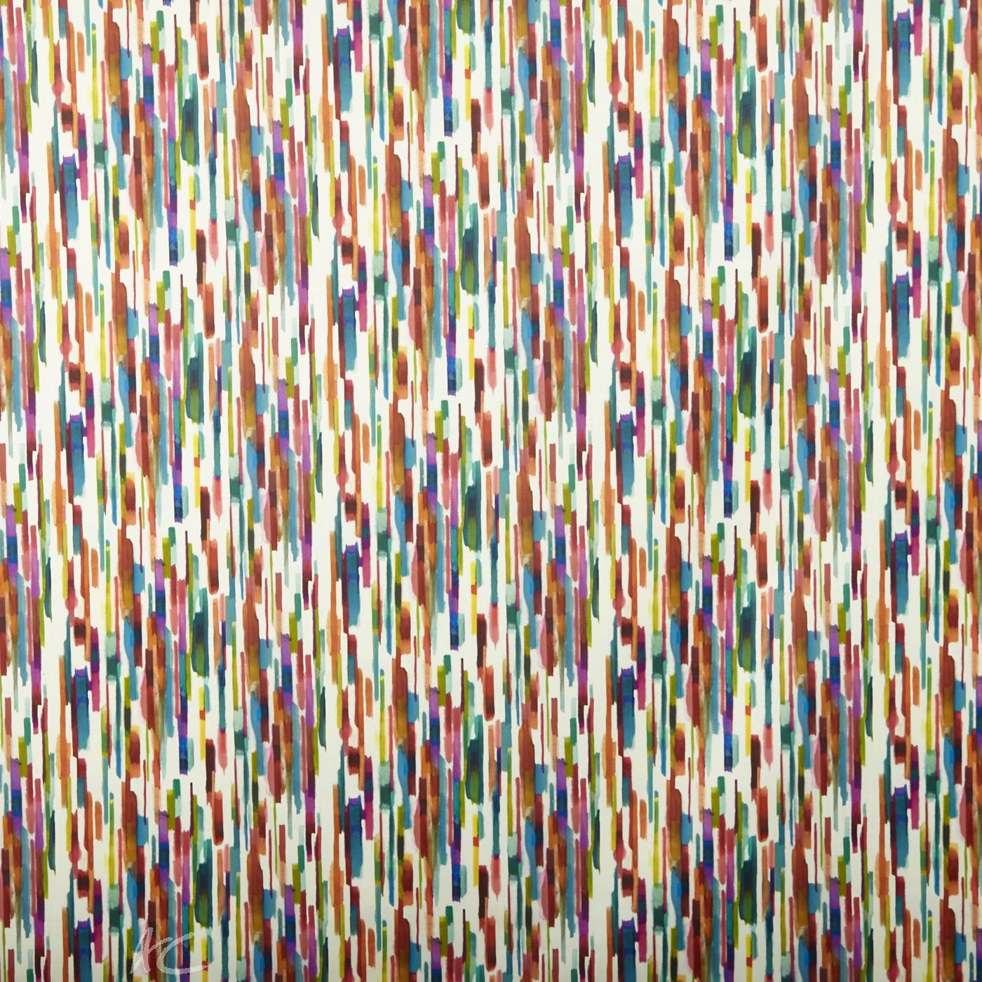 A Prestigious Textiles Decadence Jasper Calypso Curtain Fabric