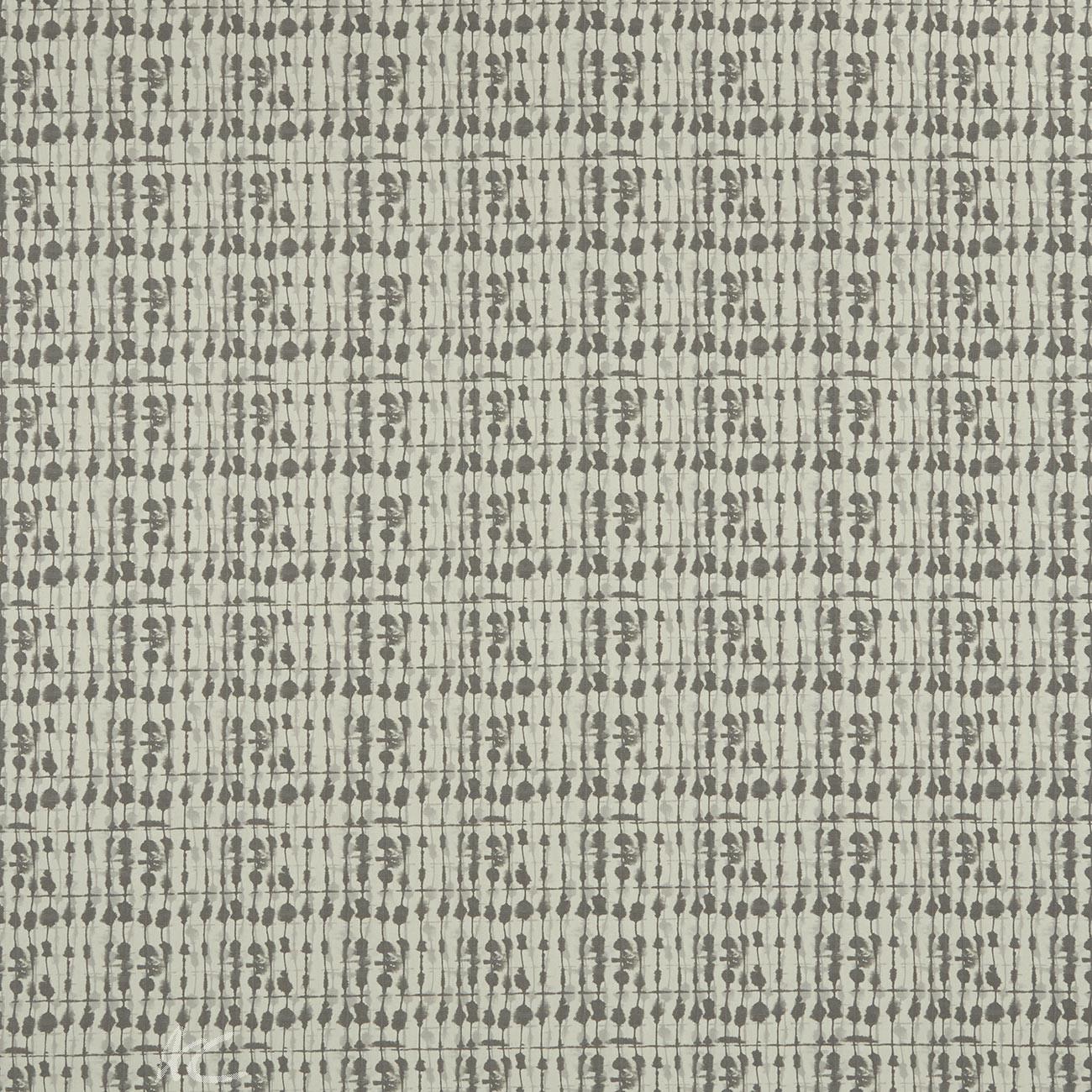Clarke and Clarke Batik Kediri Smoke  Curtain Fabric
