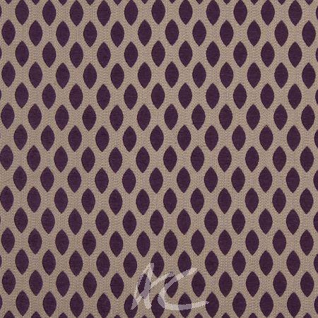 Renaissance Leo Purple Roman Blind