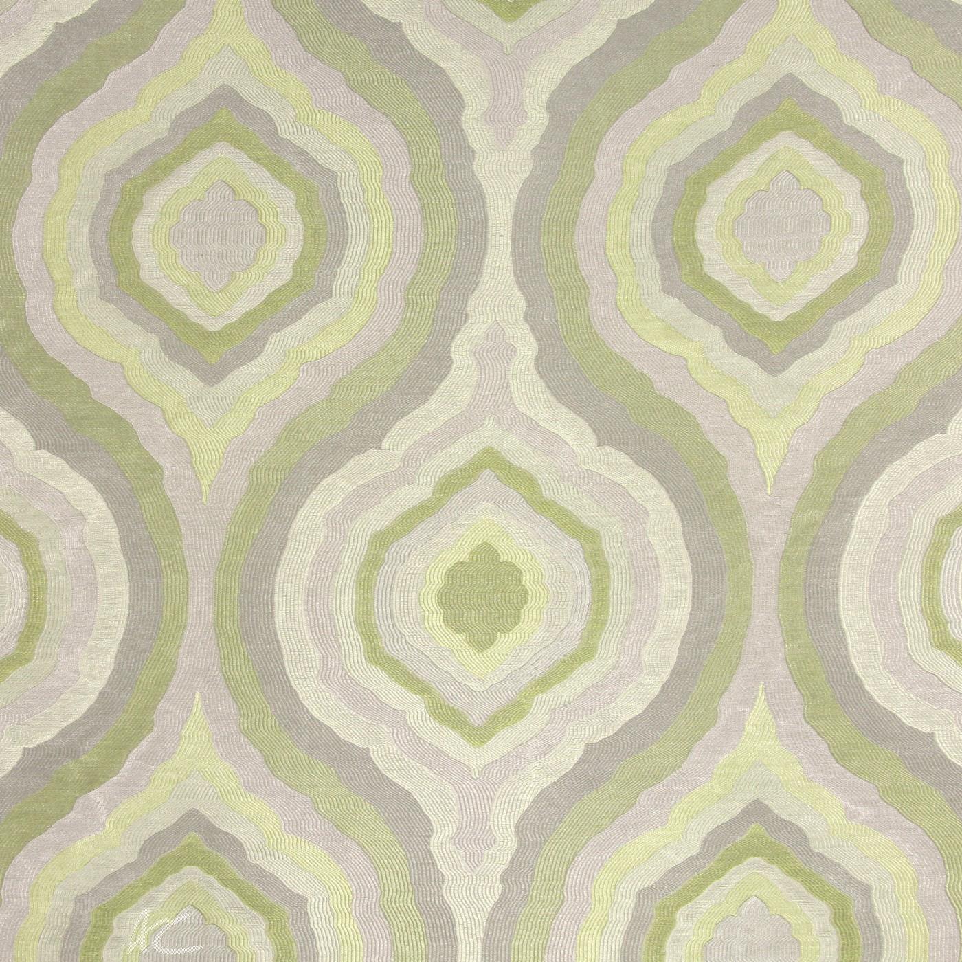 Platinum Magnesium Citron Curtain Fabric