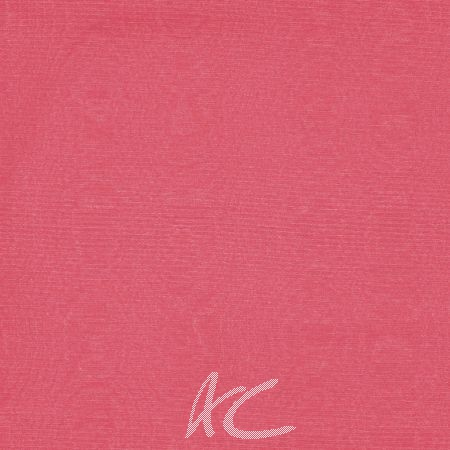 Clarke and Clarke Moire Coral Curtain Fabric