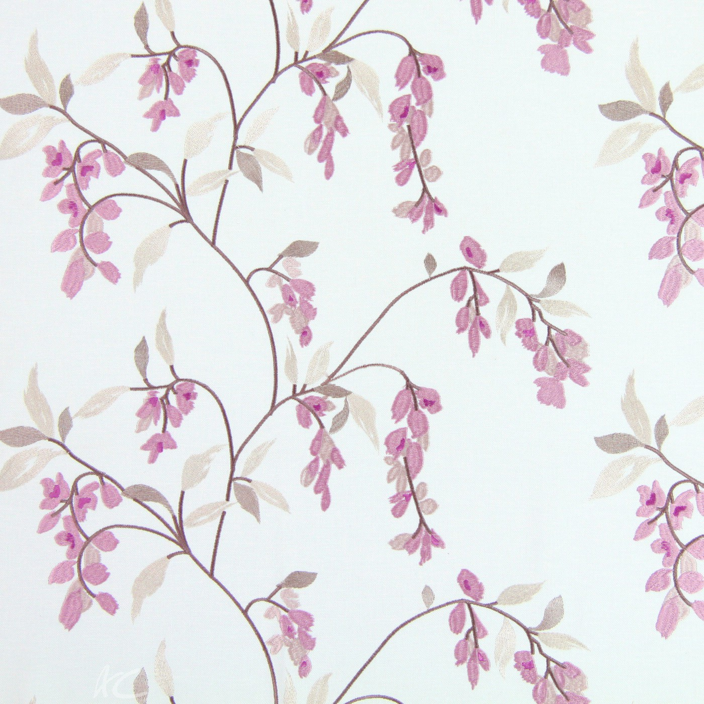 Pemberley Montague Blush Made to Measure Curtains