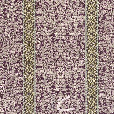 Clarke and Clarke Salon Musar Passion Curtain Fabric