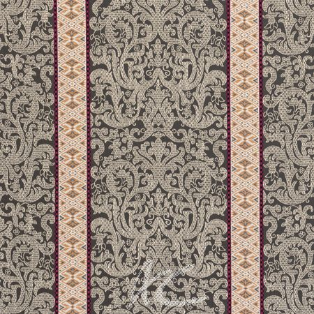 Clarke and Clarke Salon Musar Spice Made to Measure Curtains