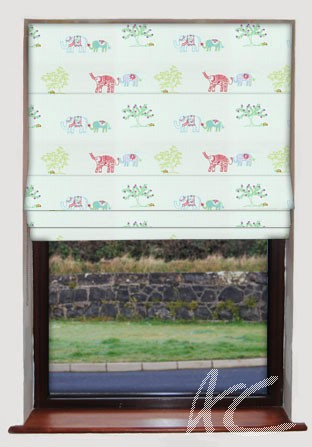 Prestigious Textiles Be Happy Nelly Paradise Roman Blind