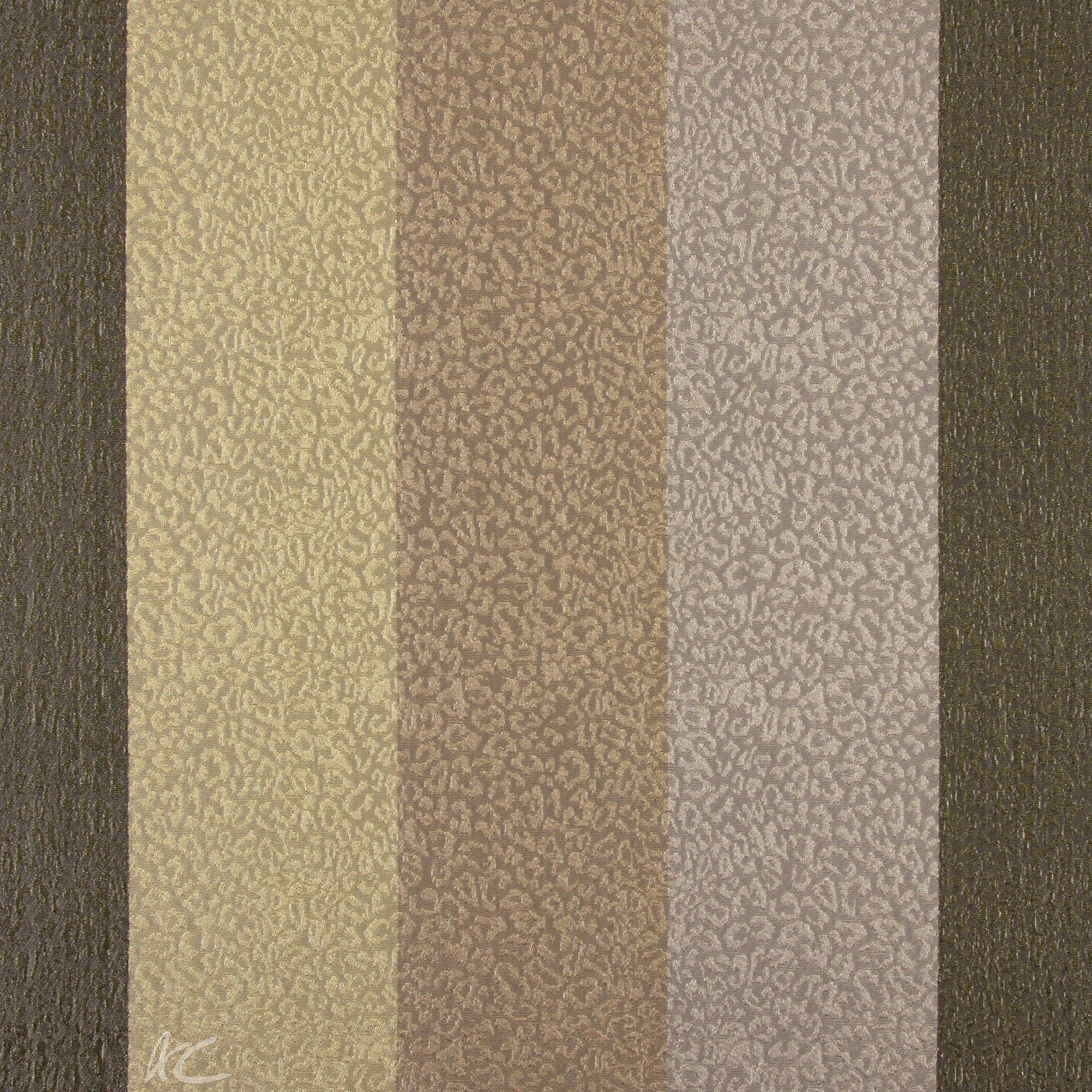 Platinum Nickel Mocha Curtain Fabric