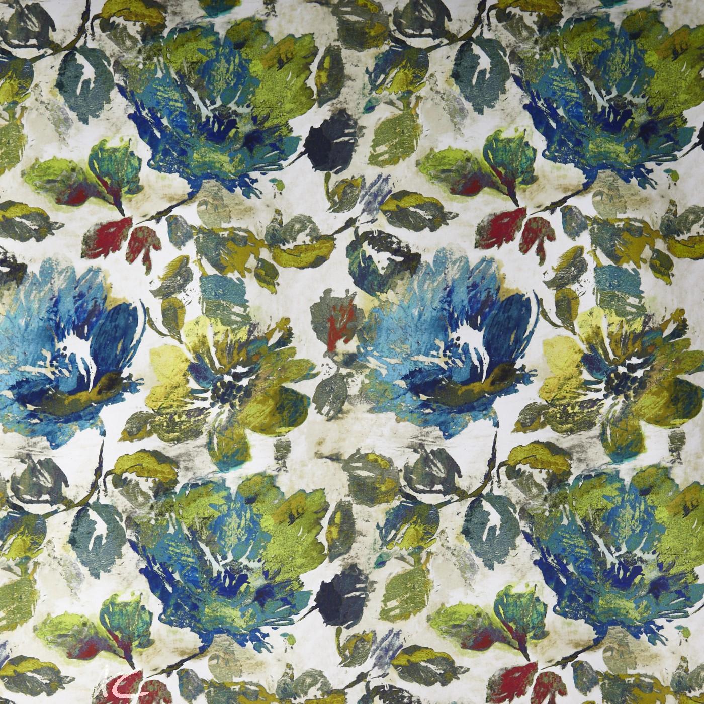 A Prestigious Textiles Decadence Opium Adriatic Curtain Fabric