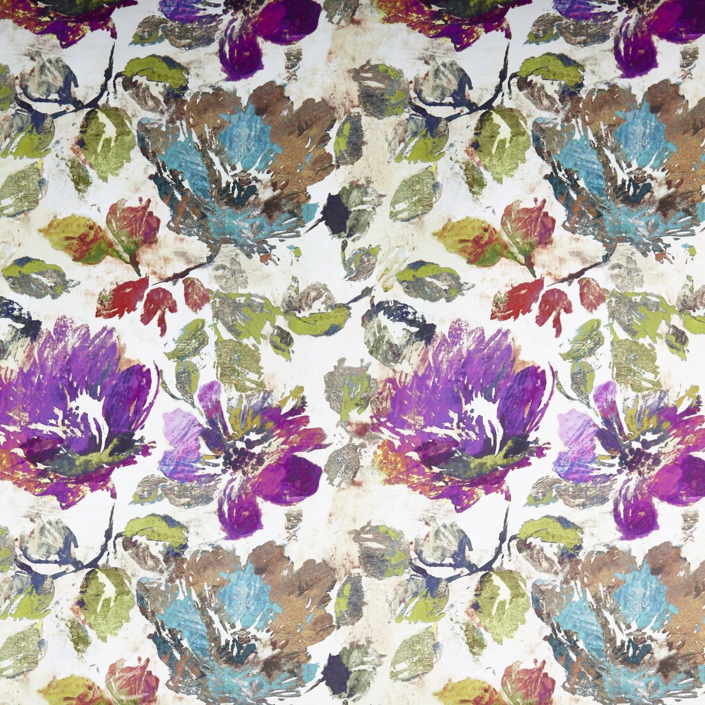 A Prestigious Textiles Decadence Opium Gemstone Curtain Fabric