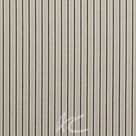 Clarke and Clarke Country Linens Painswick Charcoal Curtain Fabric