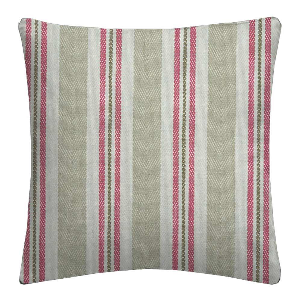 Avebury Alderton Raspberry linen Cushion Covers