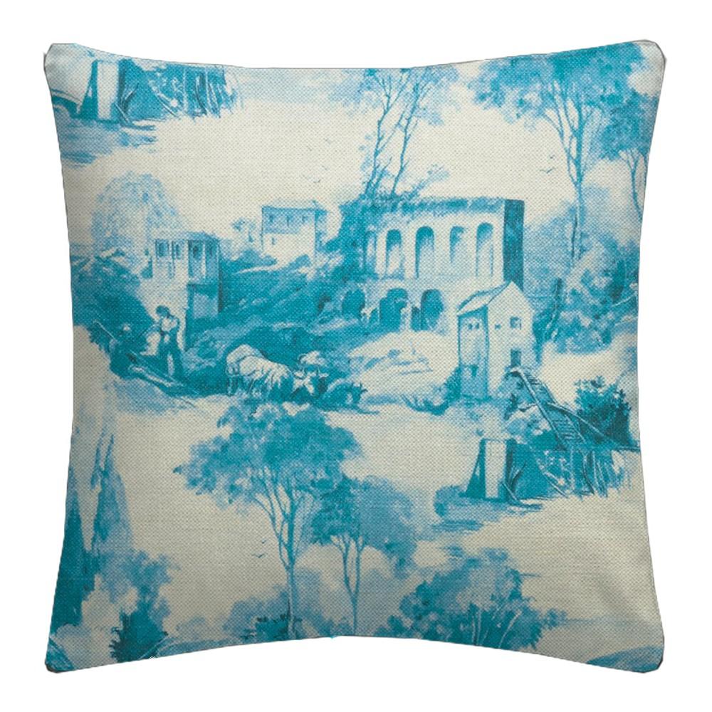 Clarke and Clarke  Colony Anastacia Delft Cushion Covers