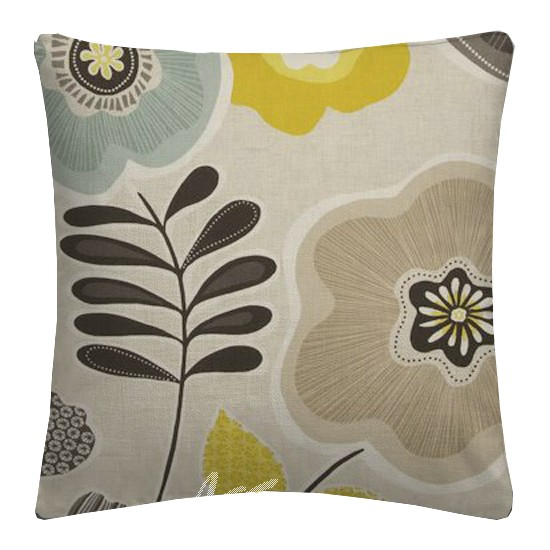 Clarke and Clarke Cariba Calypso Chartreuse Cushion Covers