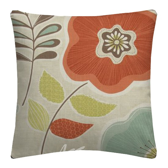 Clarke and Clarke Cariba Calypso Spice Cushion Covers