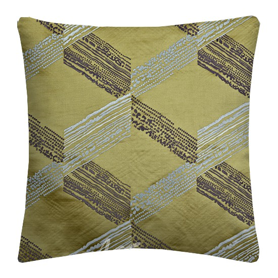 Prestigious Textiles Focus Connect Citron Cushion Covers