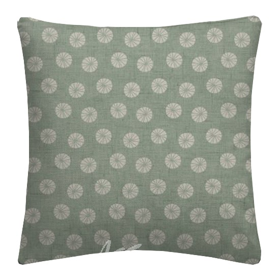 Clarke and Clarke Cariba Daiquiri Aqua Cushion Covers