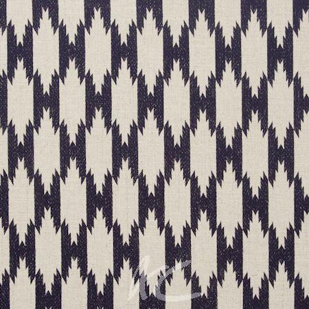 Clarke and Clarke Zanzibar Pemba Indigo Made to Measure Curtains