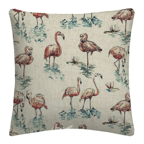 Clarke and Clarke Countryside Florida Linen Cushion Covers