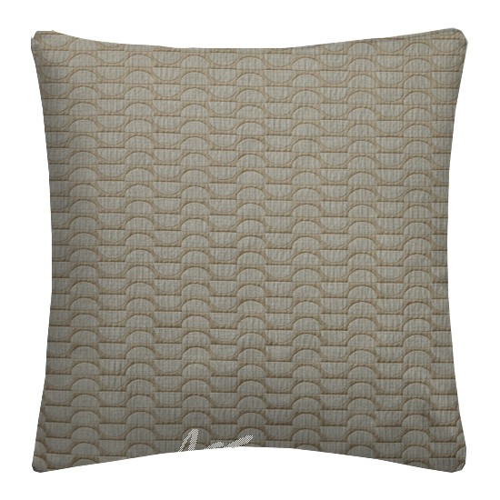 Prestigious Textiles Perception HalfMoon Praline Cushion Covers