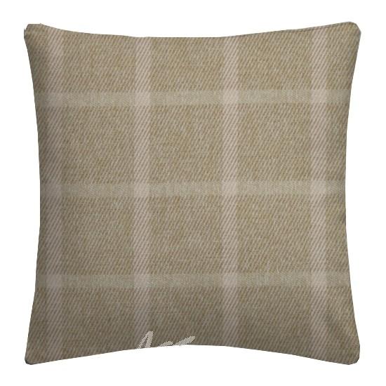 Prestigious Textiles Highlands Halkirk Oatmeal Cushion Covers
