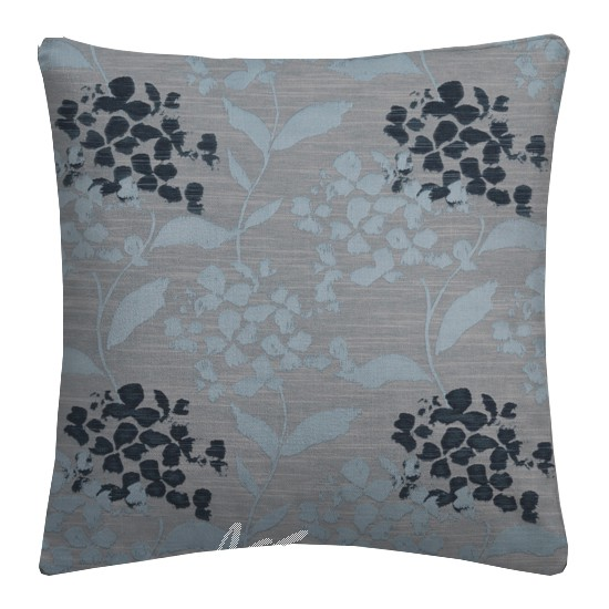 Prestigious Textiles Eden Hydrangea Bluebell Cushion Covers