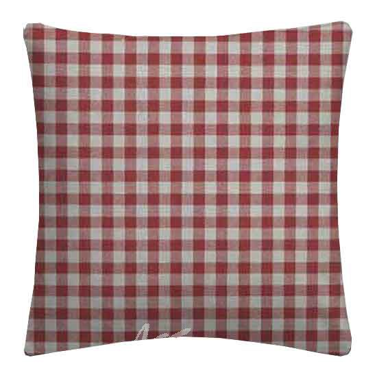 Clarke and Clarke Glenmore Loch Red Cushion Covers
