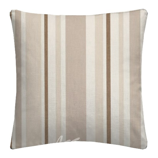 Clarke and Clarke Astrid Nova Natural Cushion Covers