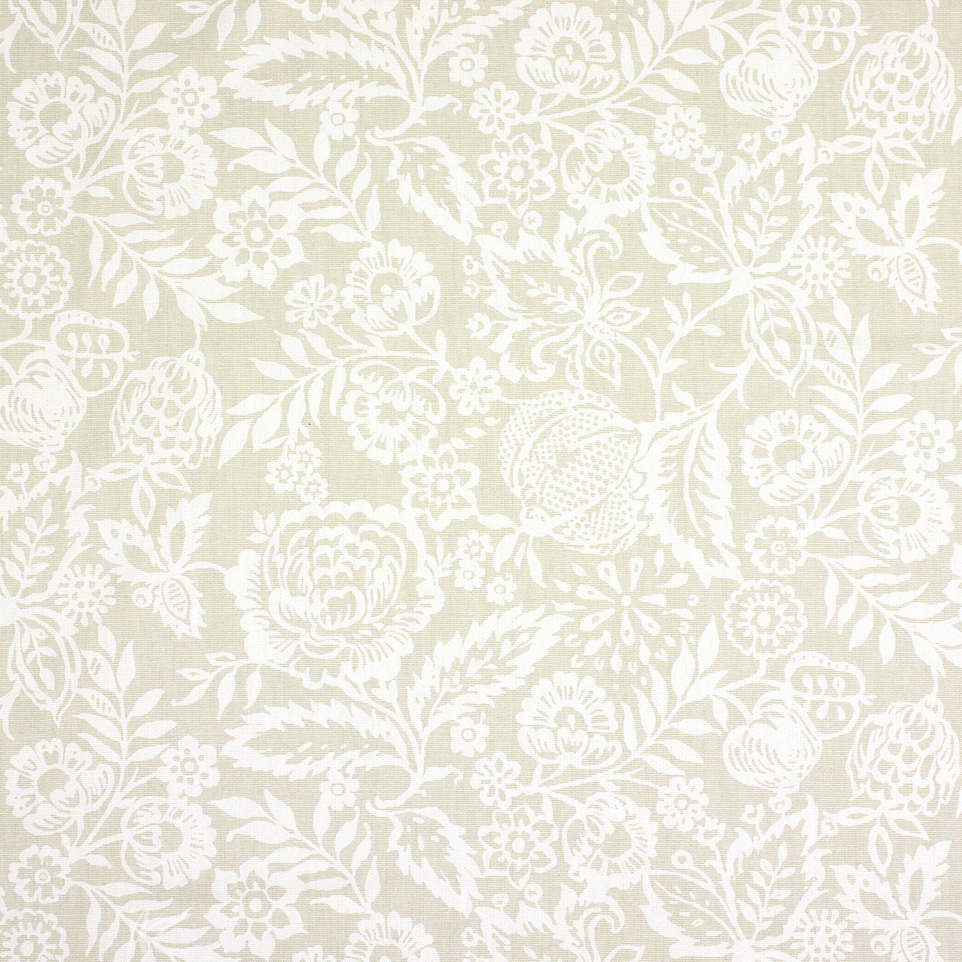 Clarke and Clarke Genevieve Polly Linen Curtain Fabric