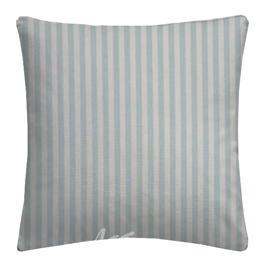 Clarke and Clarke Garden Party Party Stripe Mineral Cushion Covers