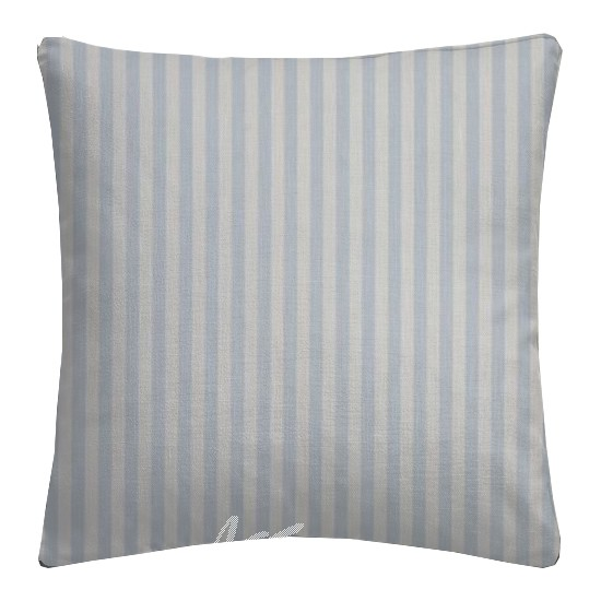 Clarke and Clarke Garden Party Party Stripe Sky Cushion Covers