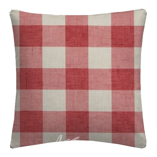 Clarke and Clarke Genevieve Polly OldRose Cushion Covers