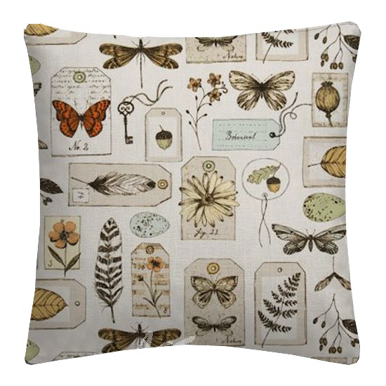 Clarke and Clarke Sketchbook Wildlife Multi Cushion Covers