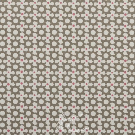 Clarke and Clarke Maritime Prints Reef Taupe Roman Blind