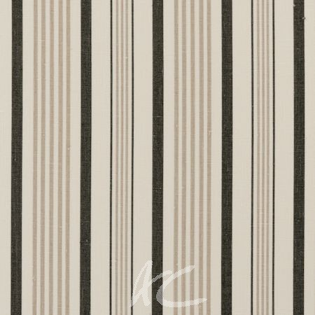 Clarke and Clarke Clarisse Sable Charcoal Curtain Fabric