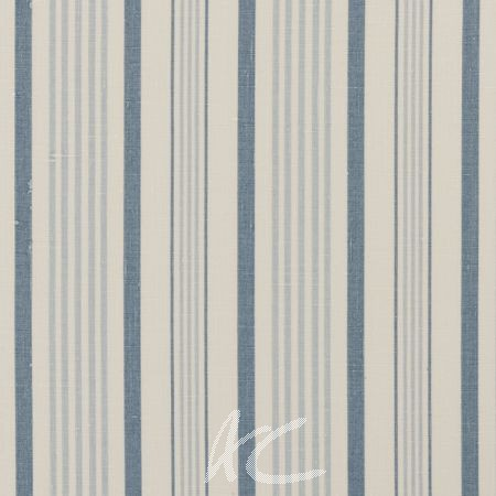 Clarke and Clarke Clarisse Sable Wedgewood Curtain Fabric