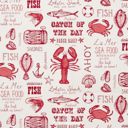 Seafood_Red_Fabric