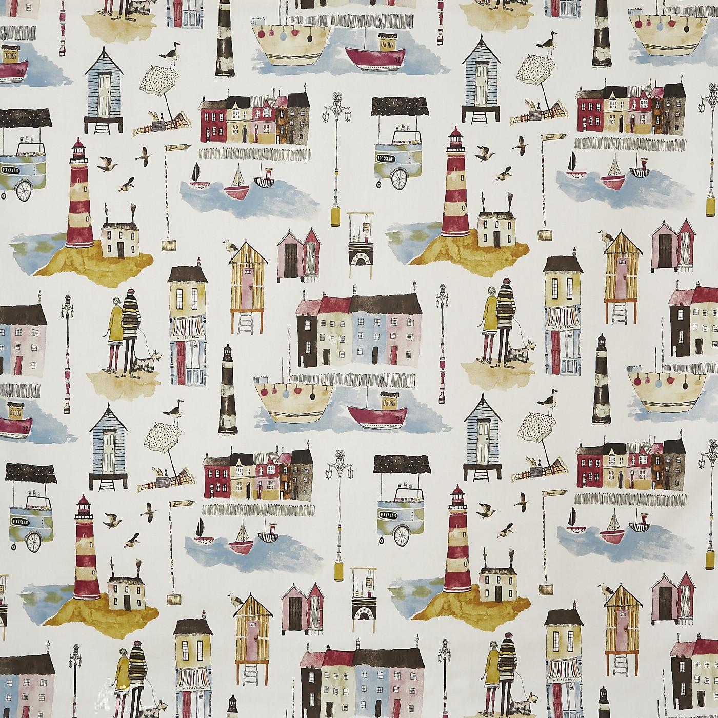 A Prestigious Textiles Beachcomber Seaside  Vintage Cushion Covers