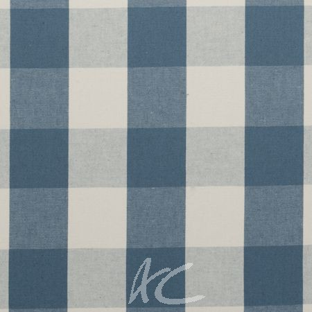 Clarke and Clarke Country Linens Sherbourne Chambray Roman Blind