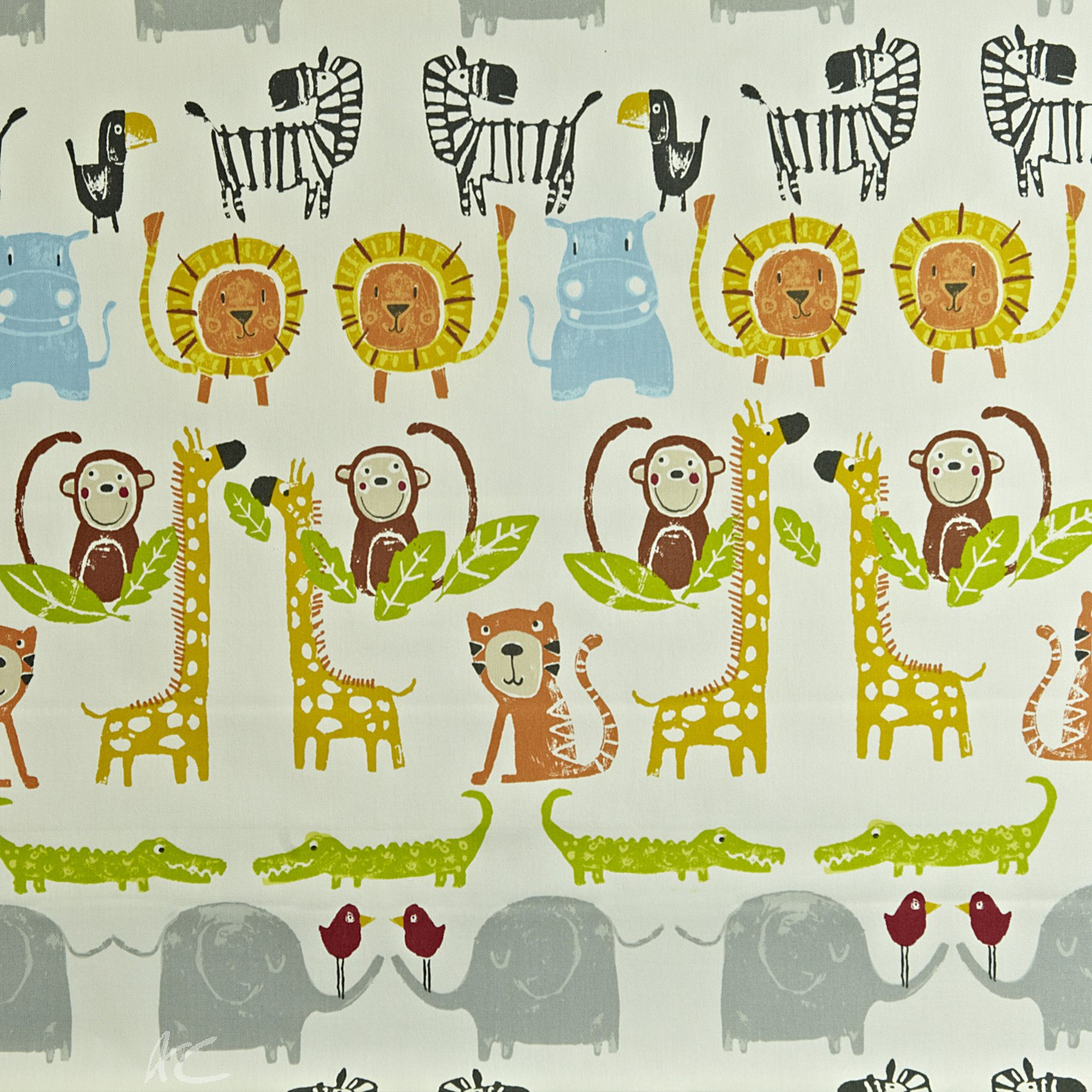 Prestigious Textiles Playtime Snappy Paintbox Made to Measure Curtains