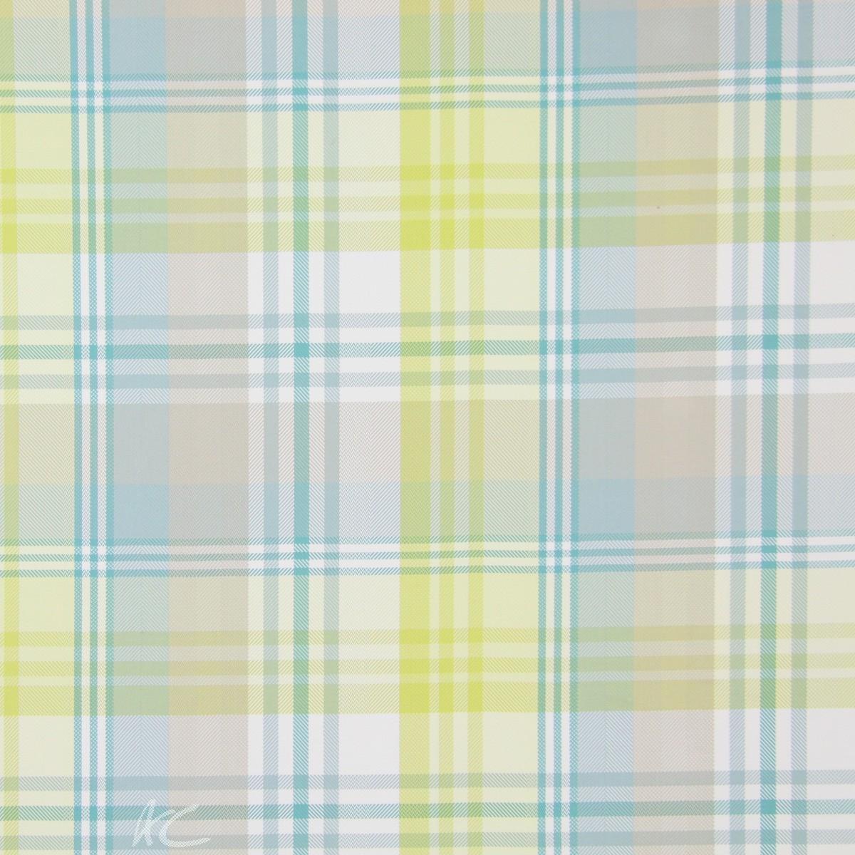 Indigo Tacoma Citrus Curtain Fabric