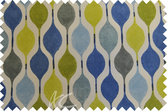 Zest Verve Bluebell Cushion Covers