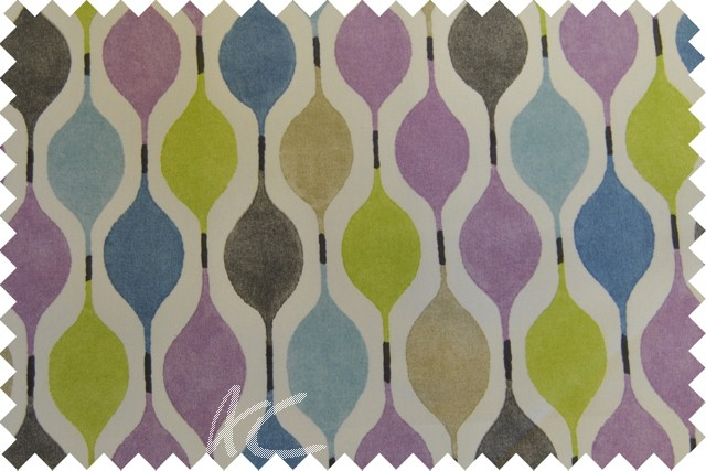 Zest Verve Hyacinth Made to Measure Curtains