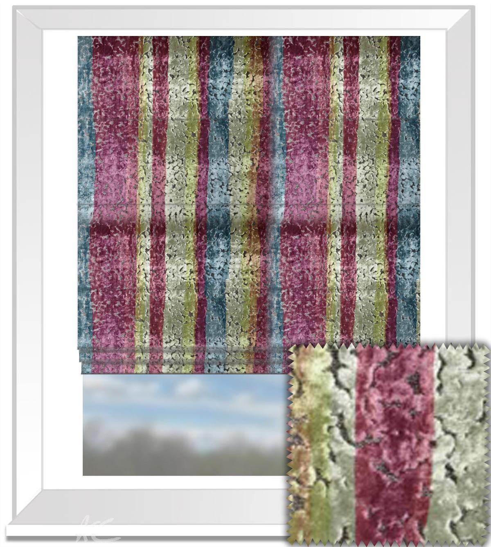 Prestigious Textiles Samba ChaCha Orchid Roman Blind