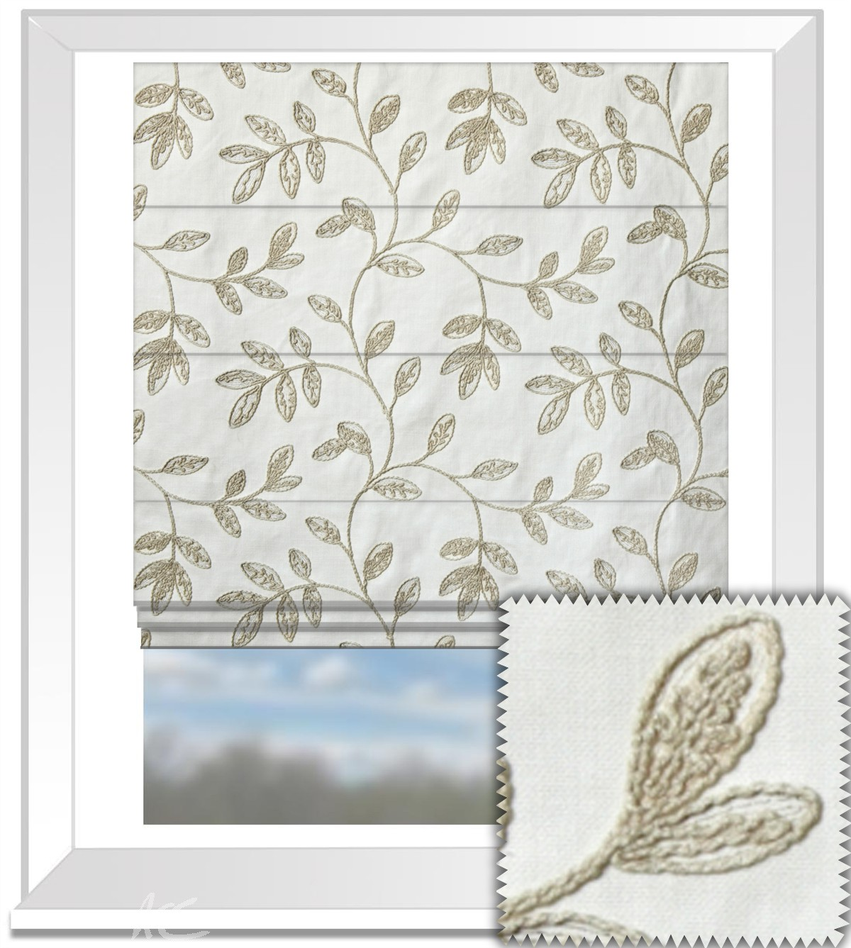 Prestigious Textiles Perception Helvellyn Natural Roman Blind