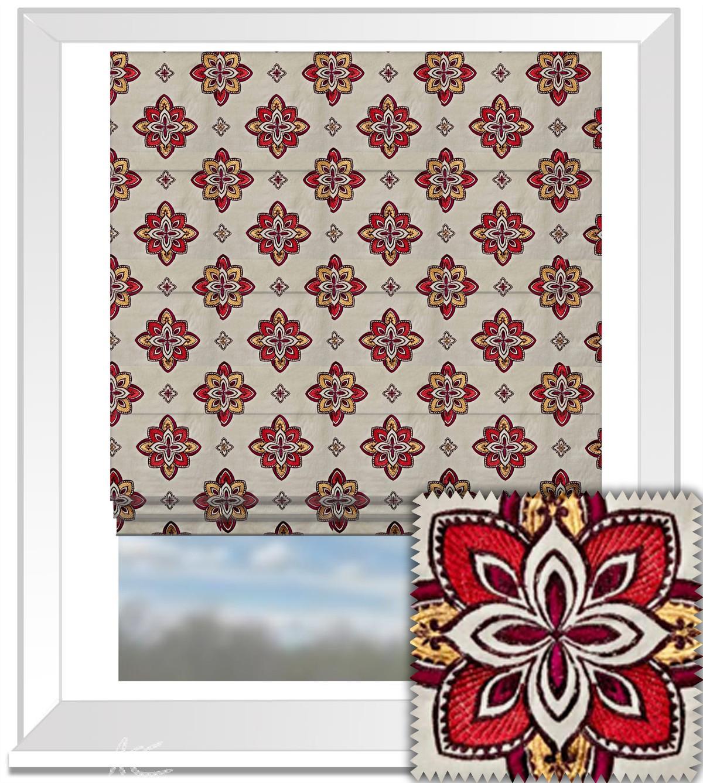 Prestigious Textiles Samba Tango Spice Roman Blind