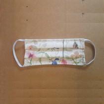 Face Mask Protection: Reusable Washable: Floral Cotton Size Child