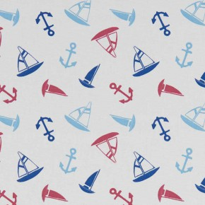 A Land and Sea Ahoy Marine Curtain Fabric