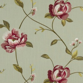 Tatton Linens Alderley Eau De Nil Curtain Fabric