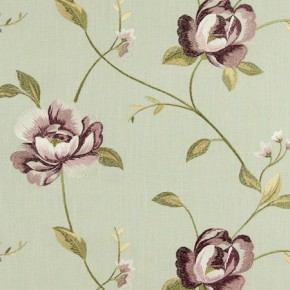 Tatton Linens Alderley Heather Curtain Fabric